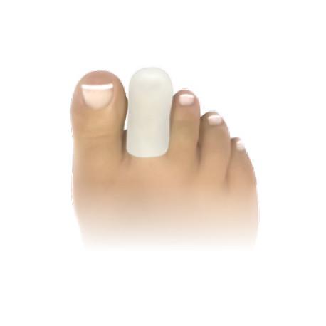 capuchons d'orteil pour le soulagement et la protection des cors pulpaires et des ongles incarnés en pur gel de silicone