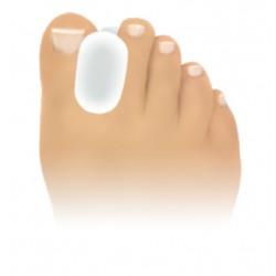écarteurs d'orteil pour le soulagement des douleurs liées à l'hallux valgus en silicone