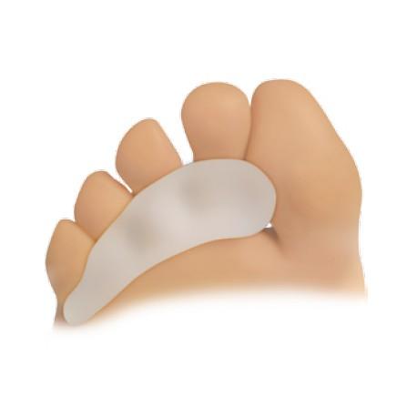 barrettes sous diaphysaires pour le soulagement des griffes d'orteils et des cors pulpaires en silicone la paire