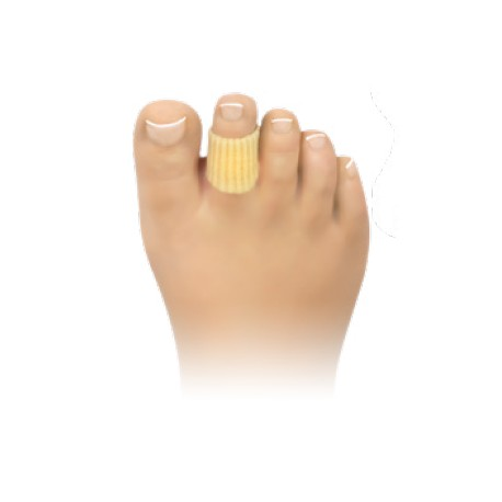 coussinets d'orteil pour la protection des cors avec gel de silicone