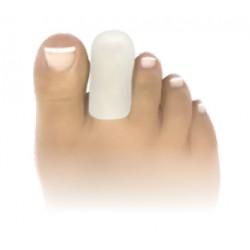 Capuchons d'orteil en pur gel de silicone