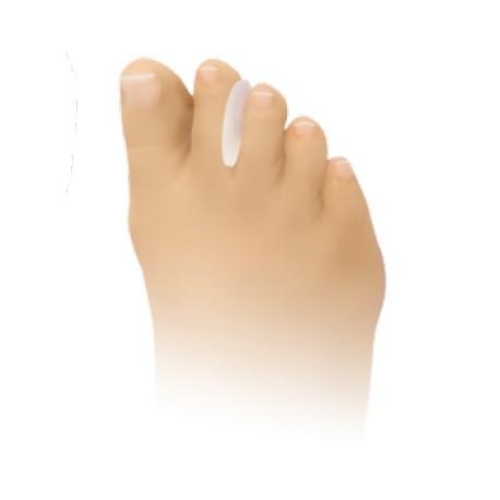 séparateurs d'orteils pour la protection et le soulagement des cors interdigitaux en gel de silicone