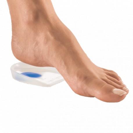 talonnettes amortissantes pour les douleurs de dos et des talons en silicone